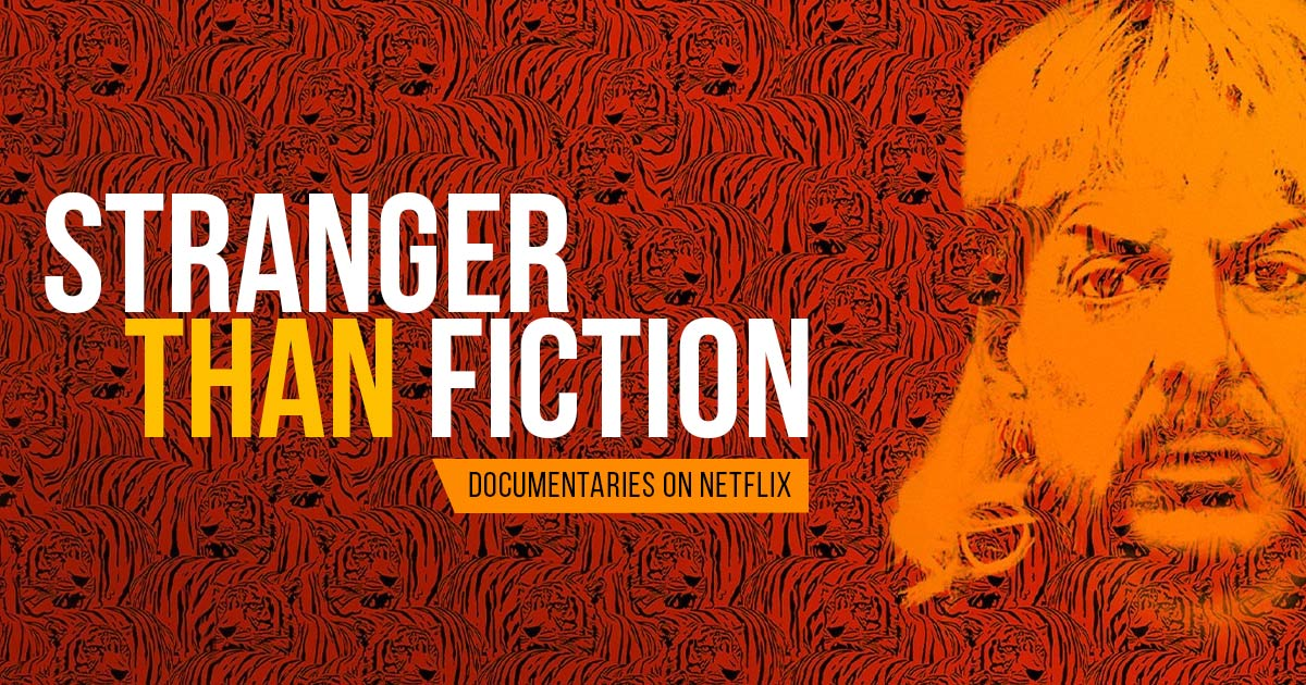 #StrangerThanFiction - Documentaries coming soon on Netflix